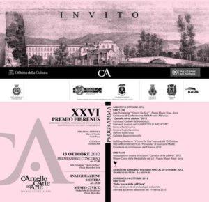 Locandina CArnello Carte ad Arte 2012